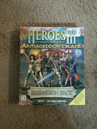 Heroes III of might and magic armageddon's blade expansion pack box Chantilly, 20151