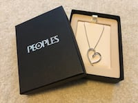 Peoples Jewellers Heart Necklace Richmond, V6X 0A4