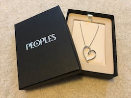 Peoples Jewellers Heart Necklace