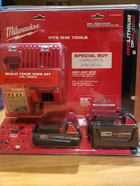 MILWAUKEE STARTER KIT 5.0/ 2.0 BATTERIES, BAG Vaughan, L4H 0E2