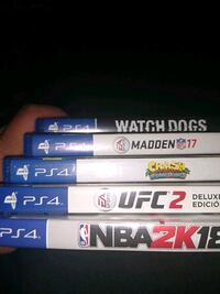 PS4 GAMES $15-$25 Henderson, 89015
