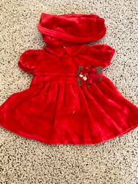 COLLECTIBLE VELOUR TOY GOWN