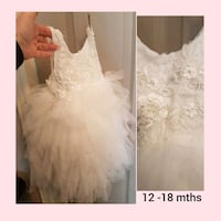 Baby Couture dress. Whitby, L1N 8X2