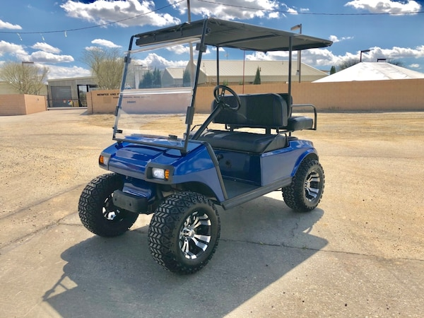 Used Custom Lifted 36 Volt Club Car Golf Cart 4 Seater For Sale In
