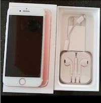 iPhone 7 rosé gold 32gb olåst Norsborg, 145 74