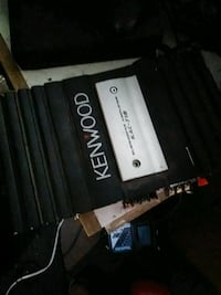 black and gray KENWOOD power amplifier Albuquerque, 87120
