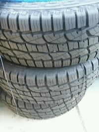 4 new tires 265/70/16 AT..instalada  Palmdale, 93550