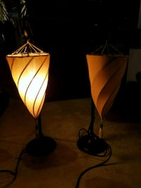 Two (2) spiral lamps Boonsboro, 21713