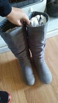 Grey boot  Lawrenceville, 30044