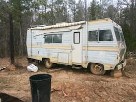 Rv camper shell, no motor but liveable