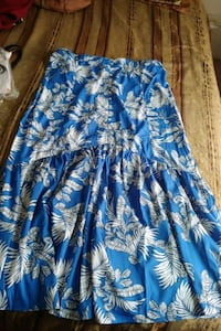 Long palm patterned skirt  Hollister, 95023