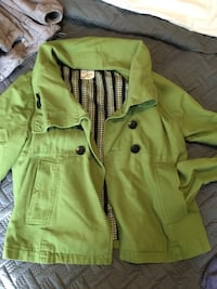 Shortie lime green jacket