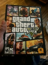 Grand Theft Auto 5 PS3 game case