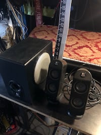 Logitech x-230 Speakers with Ported Subwoofer. Only $30/firm