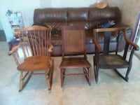 3 old rocking chairs $20 each Avondale, 19311