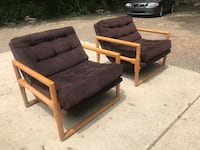 Mid century chairs great condition Southfield, 48033