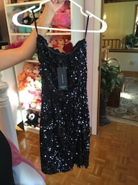New Black Sequin Dress!  Mississauga, L5R 2K6