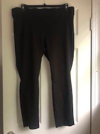 Black Slacks (Ankle Length) Silver Spring