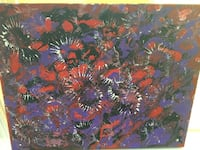 Purple, black, and red painting Union, 41091