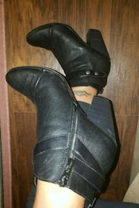 Black Breckelle's booties 8.5 Falls Church, 22046