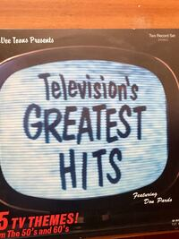 Television's Greatest Hits two-record set box Markham, L3P 6G6