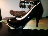New sz 7 Women's Beaded Patent Leather Heels Lake Forest, 92630