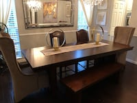 brown wooden table with chairs Fairfax, 22030