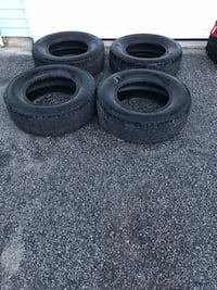 Four vehicle tire/tire size is 265/70R17 Cumberland Center, 04021