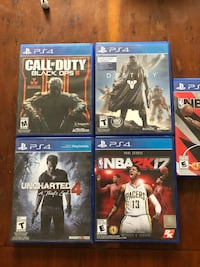 Playststion 4  Game Lot
