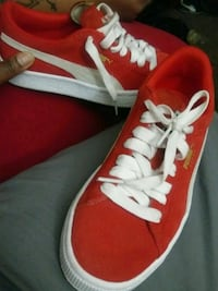 red-and-white high-top sneakers Buffalo, 14208