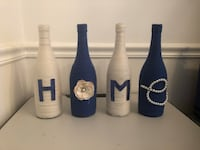 Home decor. Wine bottles.  Centreville, 20120