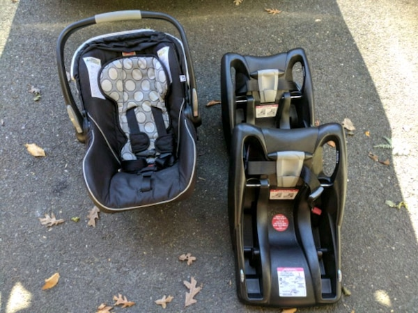 Britax Bsafe Infant Car Seat W Two Bases