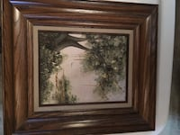 brown wooden framed painting of trees Daly City, 94015