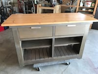 Island. Patio bar. Work table.  Looking for some thing different. Here it is 1970 km