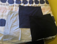 3 skirts (blue black medium grey Large) all for 15$ NEVER WORN Laval, H7S 1Y4