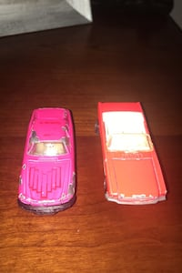 Rare PINK matchbox cars