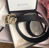 black and silver Gucci belt Baytown, 77520