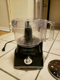 Hamilton Beach Food processor, gently used  Toronto, M6A