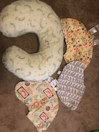 Boppy and covers