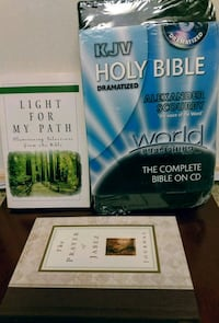 Holy Bible on CDs, Book & Journal