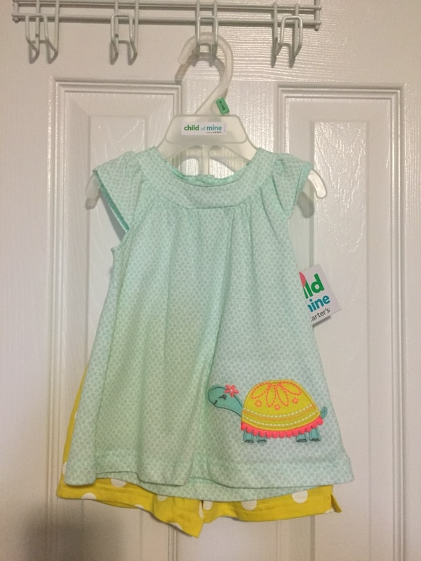 6-9 months BNWT summer outfit baby girl
