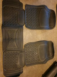 Never used SUV rubber mat
