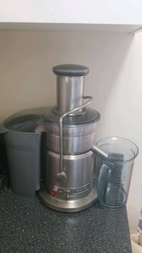 stainless steel and black juicer New Westminster, V3M 1X6