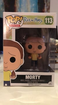 Funko Pop Morty Rick and Morty Vaughan, L4H 2V6