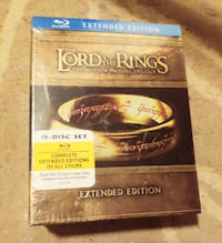 NEW BluRay LOTR 15 disc Extended Edition SET Glendale, 91201