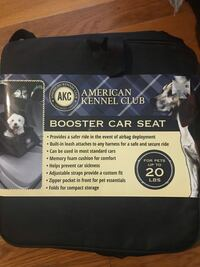 Pet booster chair $20 put to 20lbs Dallas, 75224