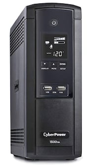 New In Box CyberPower 1500VA UPS Pure Sine Wave battery back up Markham, L6C 2V5