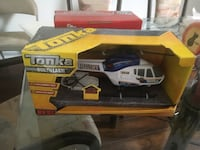 white and blue Tonka R/C helicopter with boxc Vaughan, L6A 1N3