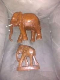 Wooden elephants Middle Sackville, B4E 2V1