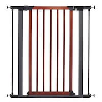 "Steel pet baby gate with wooded door. 39"" H Las Vegas, 89115"